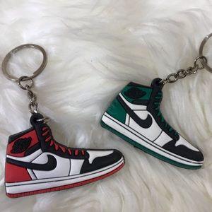 Deux portes clefs chaussures NIKE